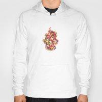 sprinkles Hoodies featuring Sprinkles Cupcake by Lines Across
