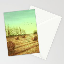 Autumn Rolls Along Stationery Cards