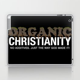 Organic Christianity Laptop & iPad Skin