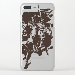 Zelda BotW Clear iPhone Case