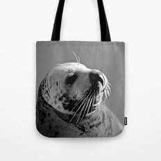 Howth Harbour Seal Tote Bag