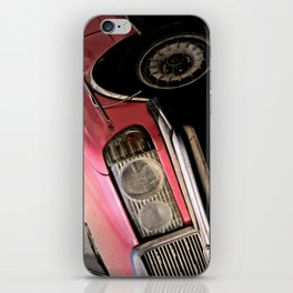 Pink Benz iPhone Skin