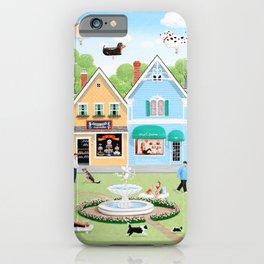 Dog Lovers Lane iPhone Case