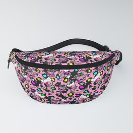 Pattern Animal print by MamirruQuis Fanny Pack