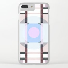 Deco 8 Clear iPhone Case