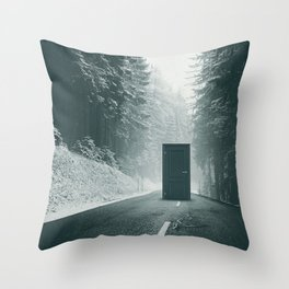 Middle Throw Pillow
