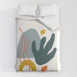 Modern Art Autumn C Comforters