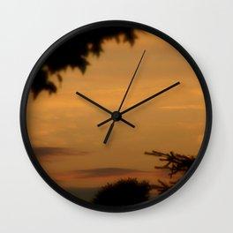 Albany Sunrise Wall Clock