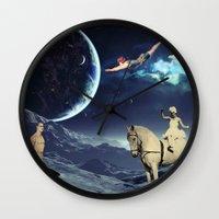 circus Wall Clocks featuring Circus by Cs025