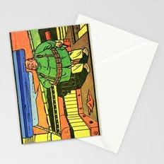 fat man spy  Stationery Cards