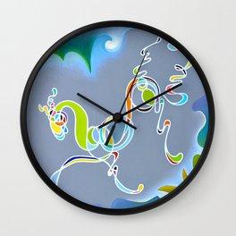 My Neigh-bor Wall Clock