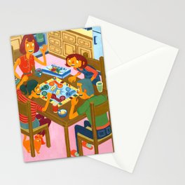 Family Night Stationery Cards