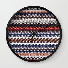 Texture laine Wall Clock