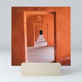 Orange India Mini Art Print