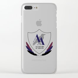 AA Emblem Clear iPhone Case