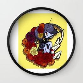 Fall Season Squigly Wall Clock