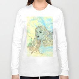 Lady Green Long Sleeve T-shirt