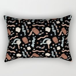 Central Dogma - DNA to mRNA to Protein! Rectangular Pillow