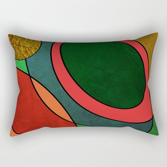 Abstract #325 Rectangular Pillow