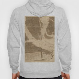 The Atlantic Neptune: Charts for the Use of the Royal Navy (1780) - Charlestown Harbour Hoody