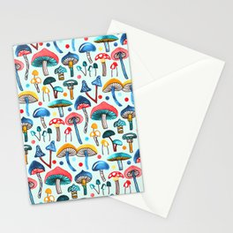 Alice's Mushrooms Stationery Cards