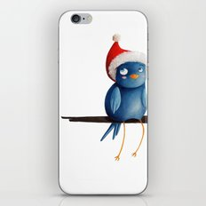 Christmas Bird iPhone Skin