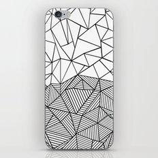 Ab Half n Half iPhone Skin