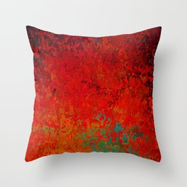 Figuratively Speaking, Abstract Art Throw Pillow