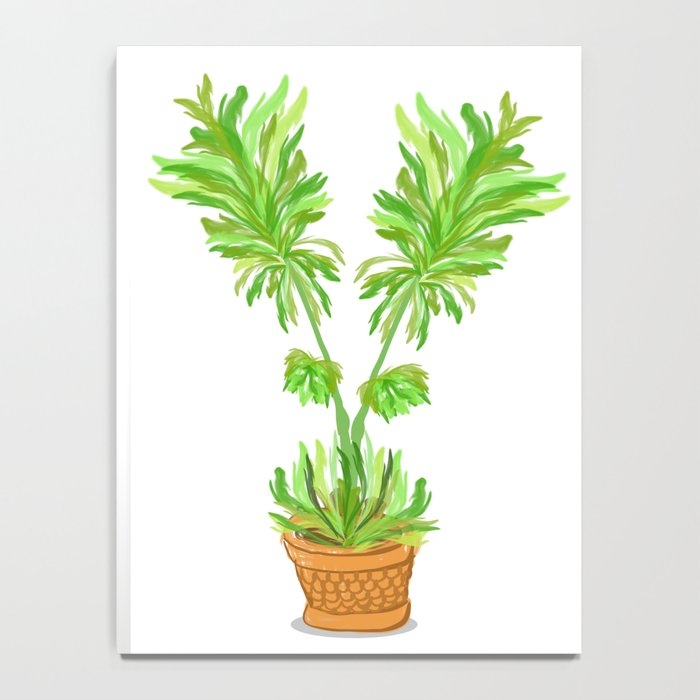 Potted Palm Notebook