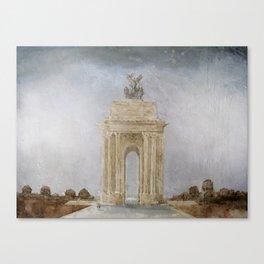 Wellington Arch London  Canvas Print