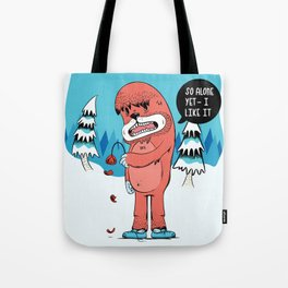 Lonely Yeti Tote Bag