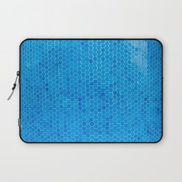 Turquoise Blue Sequins Laptop Sleeve