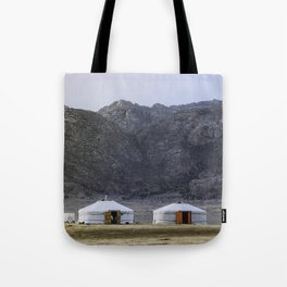 Seeing Double in the Gobi Tote Bag