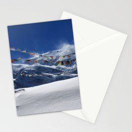 Prayer Flags At The Pass Stationery Cards