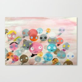 On With Life Canvas Print