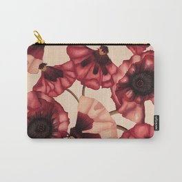 Poppies Carry-All Pouch