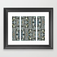 patterns emerge succinctly tightened Framed Art Print