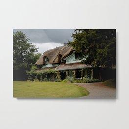 Swiss Cottage Metal Print