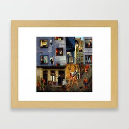 Sales Are Down Framed Art Print
