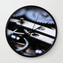 Gearwheels Wall Clock