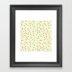 Geometric Defragmentation Framed Art Print