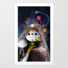 Salome electrify me Art Print