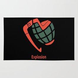 Explosion Rug