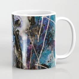 Midnight Sky, Acrylic artwork Coffee Mug