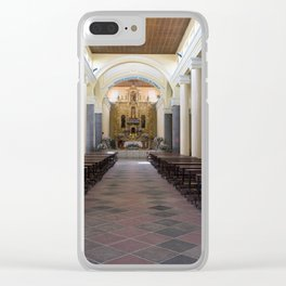 Iglesia El Jordan Clear iPhone Case
