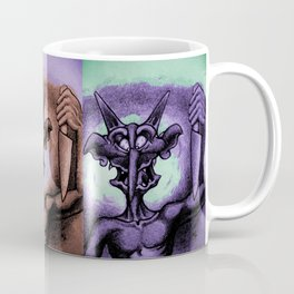 Stabbing Troll/Halloween Coffee Mug