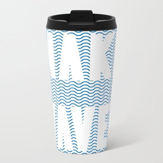 Make Waves Metal Travel Mug