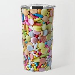 Rainbow Candy Sprinkles Travel Mug