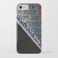 barcelona iPhone & iPod Cases featuring Barcelona by Nicolò Michetti
