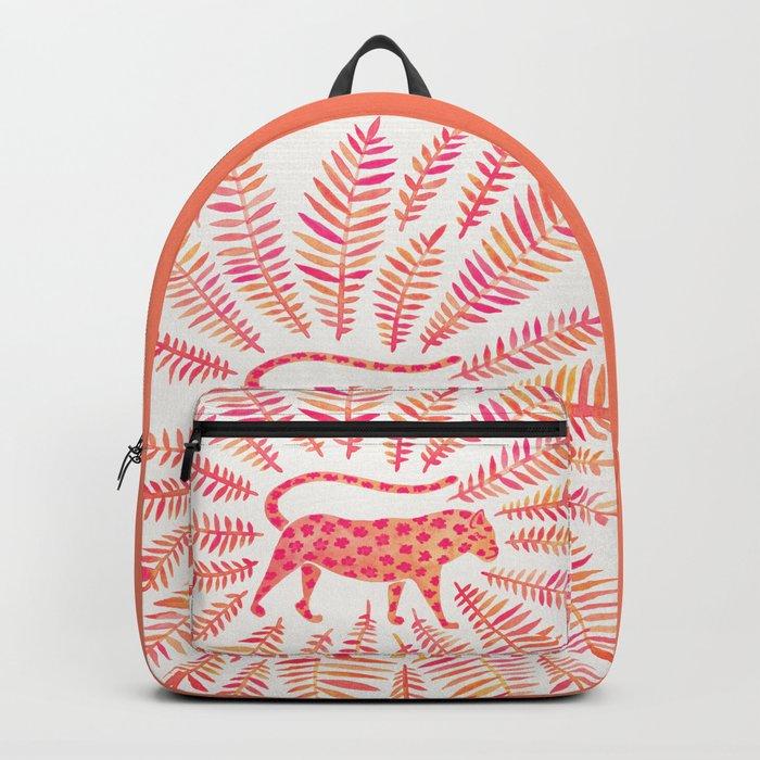 Jaguar – Pink Ombré Palette Backpack